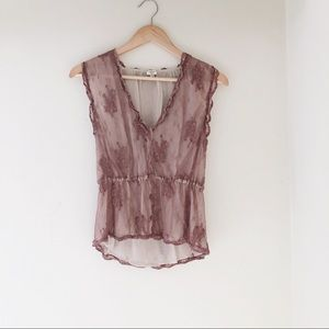 Wilfred Lace Top
